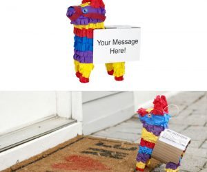 Piñatagram Will Deliver A Mini Piñata Straight To Your Doorstep – Meet Piñata! Favorite Food: Candy. Fun Fact: Dislikes  large sticks.