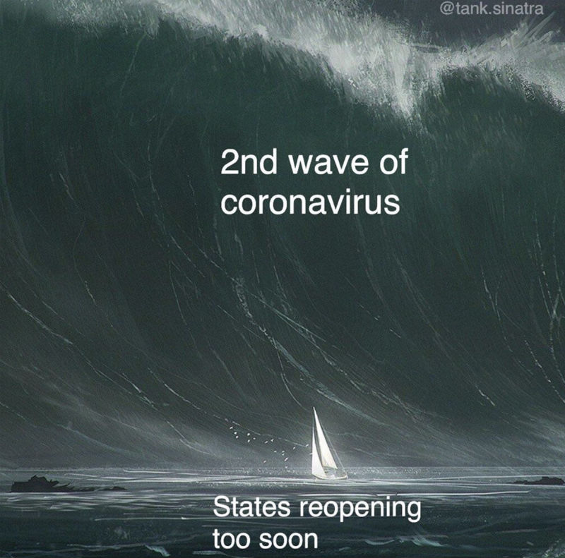 2nd wave of coronavirus meme