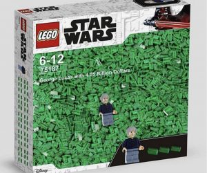 Star Wars Lego George Lucas With 4 Billon Dollars – Meme