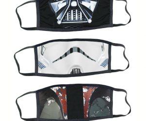 Star Wars Medical style face masks – Darth Vader Stormtrooper & Boba Fett Mandalorian!