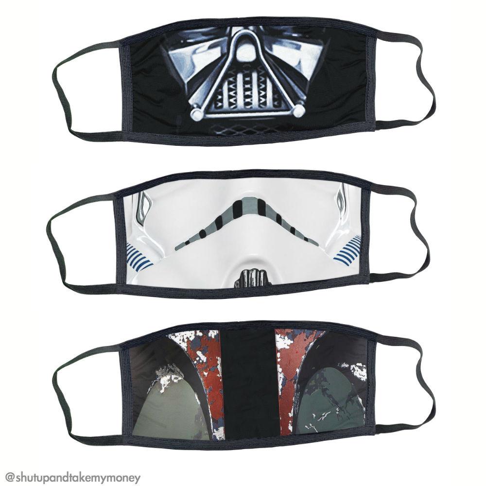 star wars medical style face masks