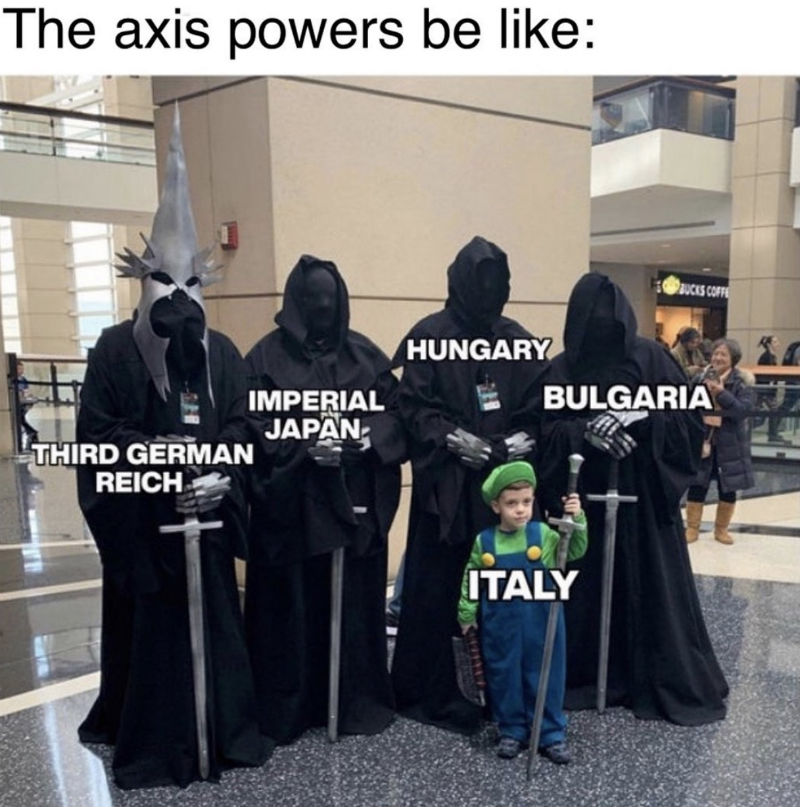 the axis powers italy