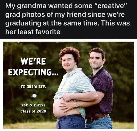 were expecting to graduate meme