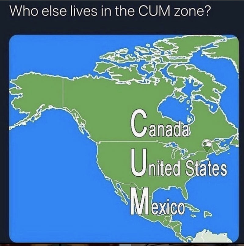 who else lives in the cum zone