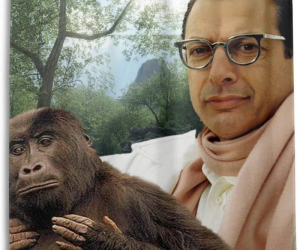 This Jeff Goldblum Shower Curtain Is One Of The Weirdest Bathroom Accessories You Can Buy –Jeff Goldblum is watching you poop!