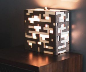 Minecraft Ore Lamp –No need to break out the pickaxe for this beautiful lamp!