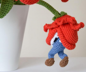 Piranha Plant Crochet Bouquet – This listing pattern of Piranha Plant Crochet Bouquet is so adorable!