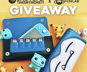 Snorlax Nintendo Switch Case Giveaway! – We've partnered up with @funlab_official to bring you all another epic giveaway!