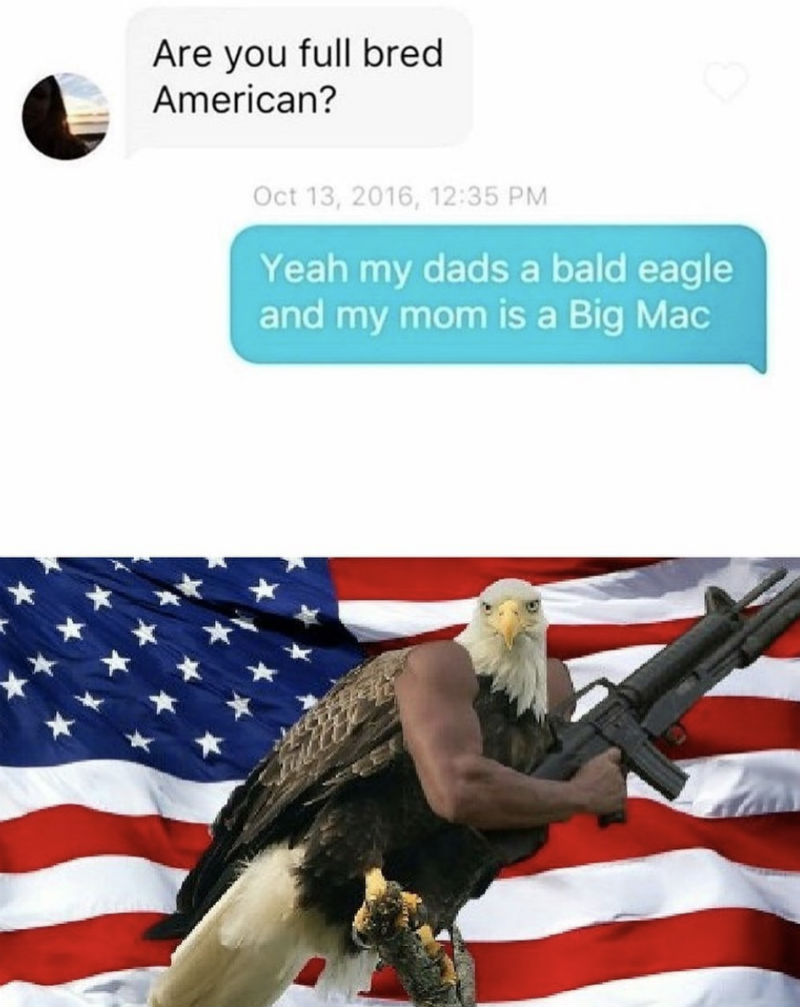 are you full bred american