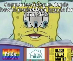 Companies Trying To Decide How To Market Their Brands For June 2020 – Meme
