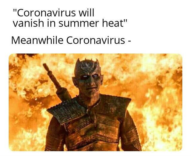 coronavirus will vanish