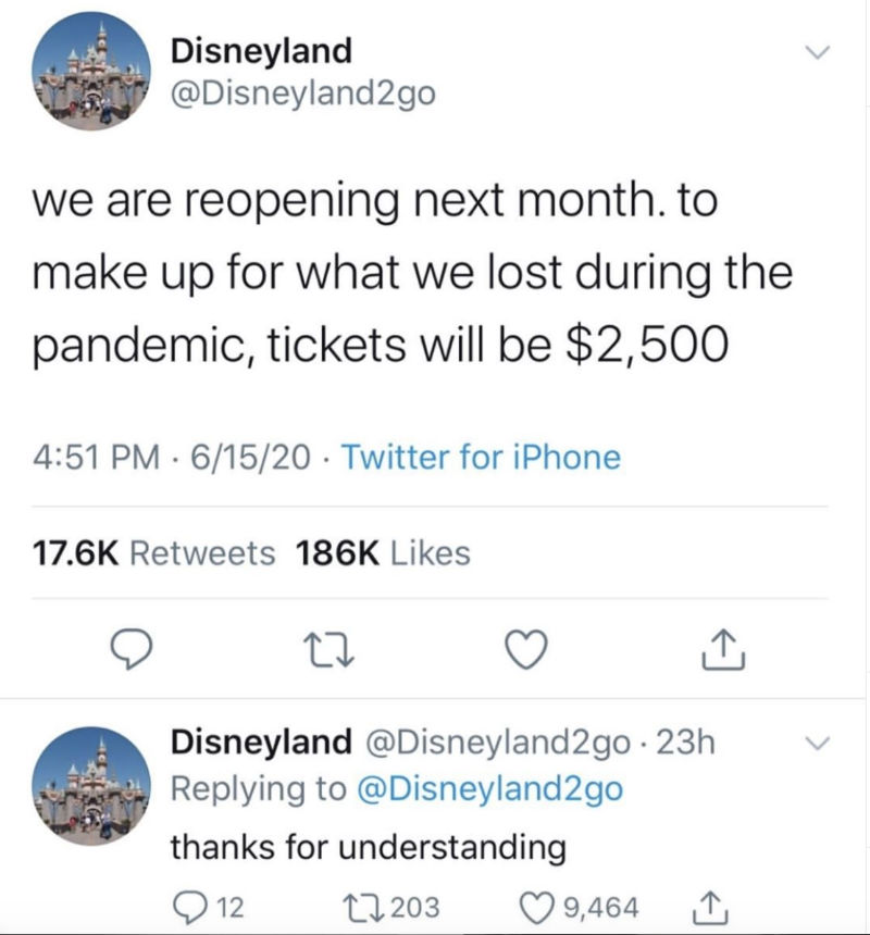 disneyland we are reopening