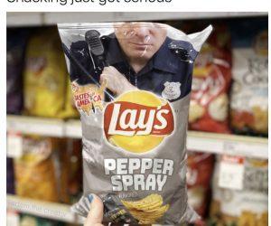 Lays Pepper Spray Chips – Meme