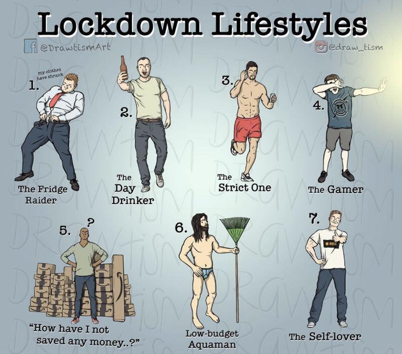 lockdown lifestyles