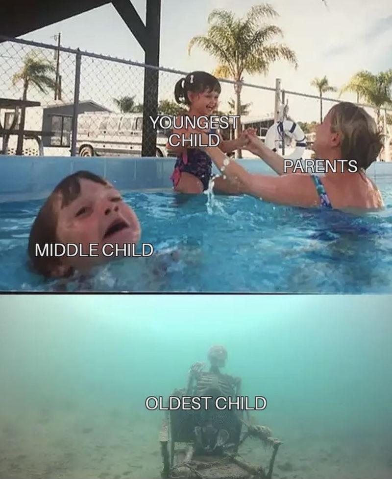 oldest child meme