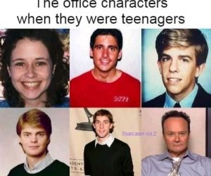 The Office Characters When They Were Teenagers – Meme