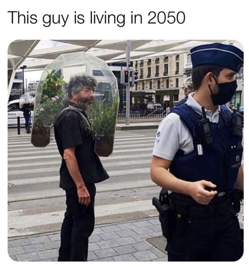 this guy is living in 2050