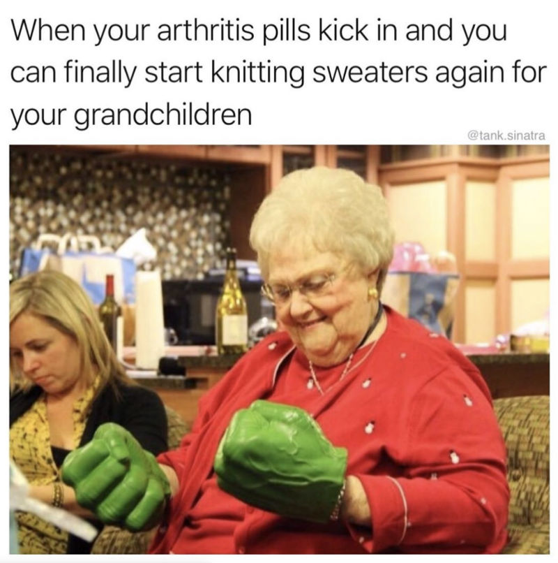 when the arthritis pills kick in