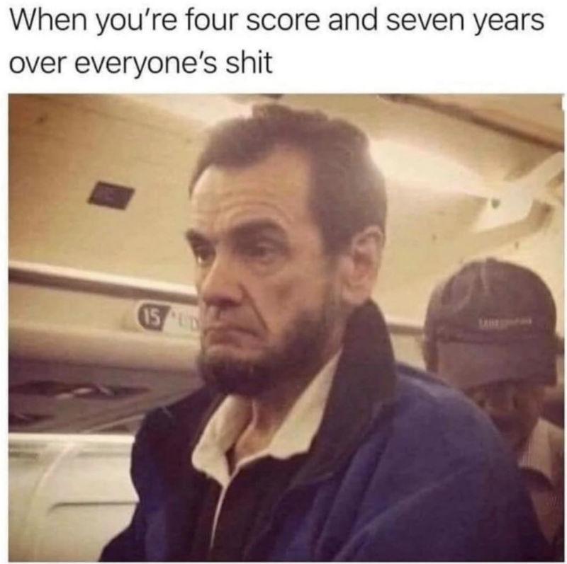 when you're four score