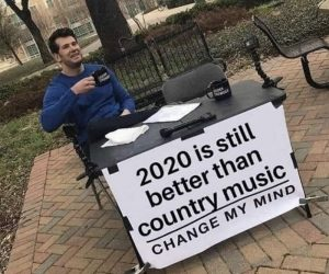 2020 Is Still Better Than Country Music – Meme
