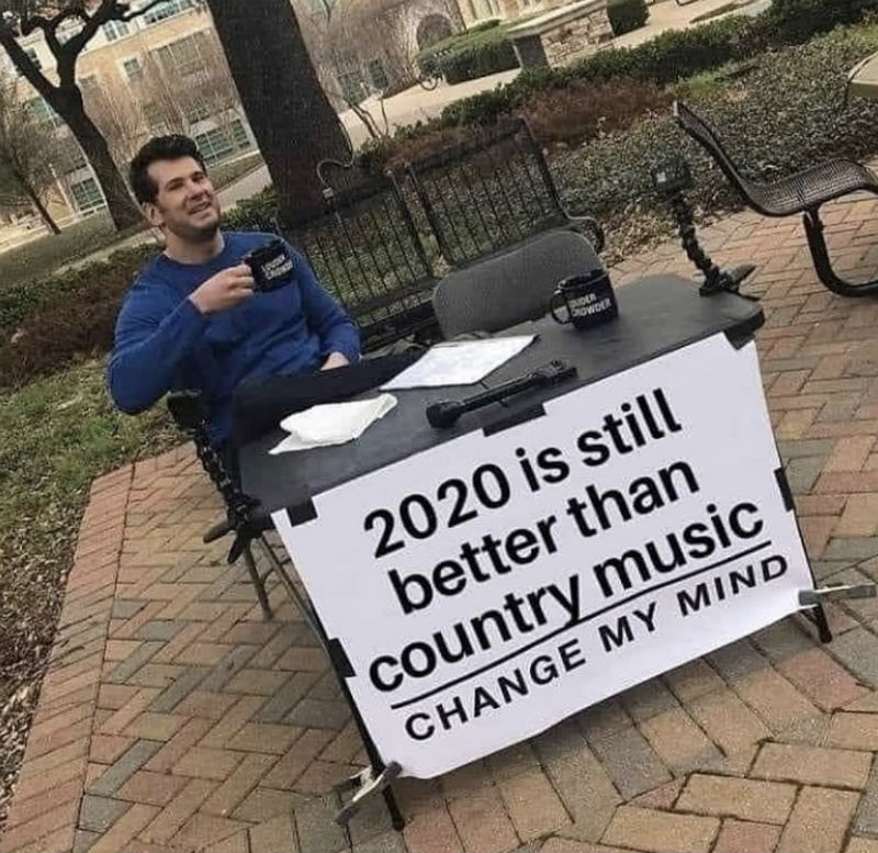 2020 is still better than country music