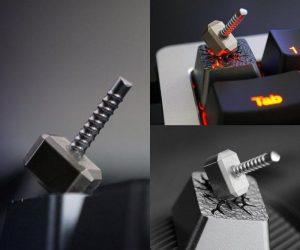 Avengers Thor's Hammer Key Caps – Feel the power of God of Thunder with this Thor Hammer Key Caps!