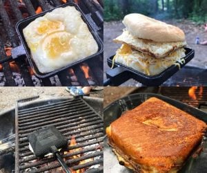Coghlan's Cast Iron Cooker – Perfect portable cast iron for camping!