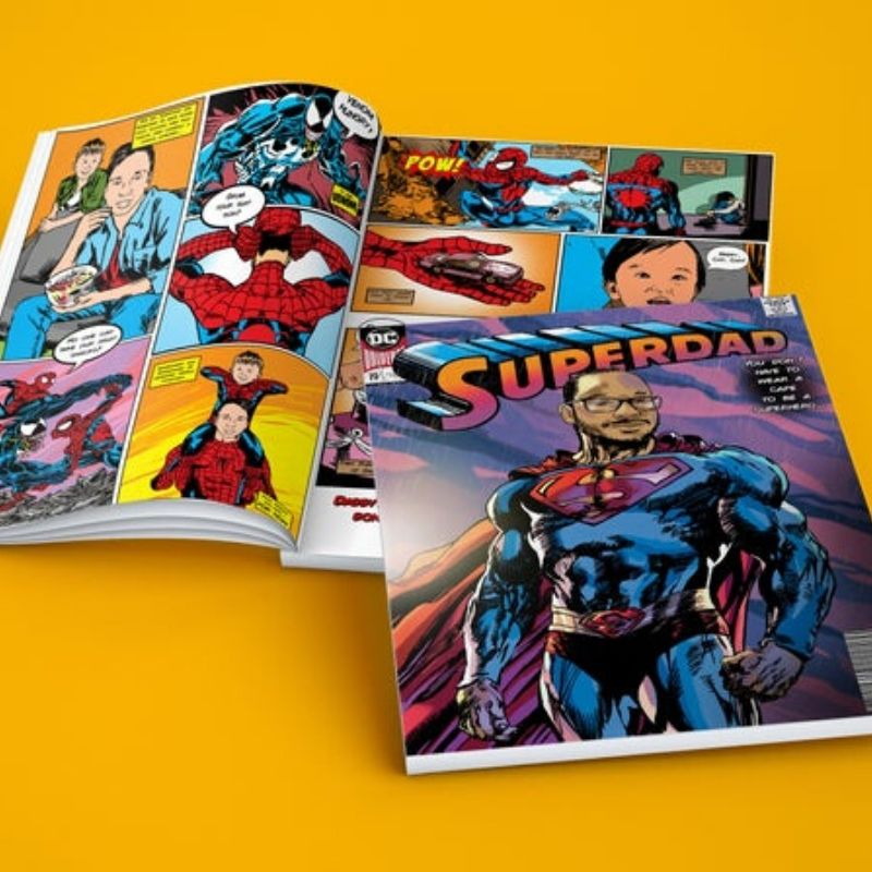 Personalized Comic Book