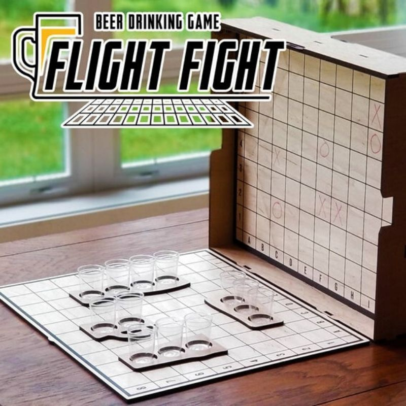 Flight Fight – The Beer Drinking Party Game!