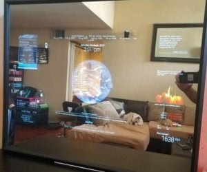 Google Assistant Smart Mirror – Say Ok Google! to this32″ HD Display Google Assistant Smart Mirror.