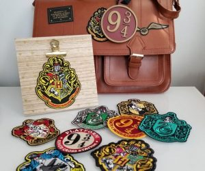 Harry Potter House Patch – Show your House Pride with these beautiful iron on and stitch patches!