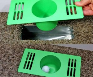Indoor Golf Game – Practice your golf game at home with the put vent!