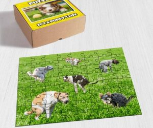 Pooping Dogs Jigsaw Puzzle –Cute jigsaw puzzle with little pooping dogs!