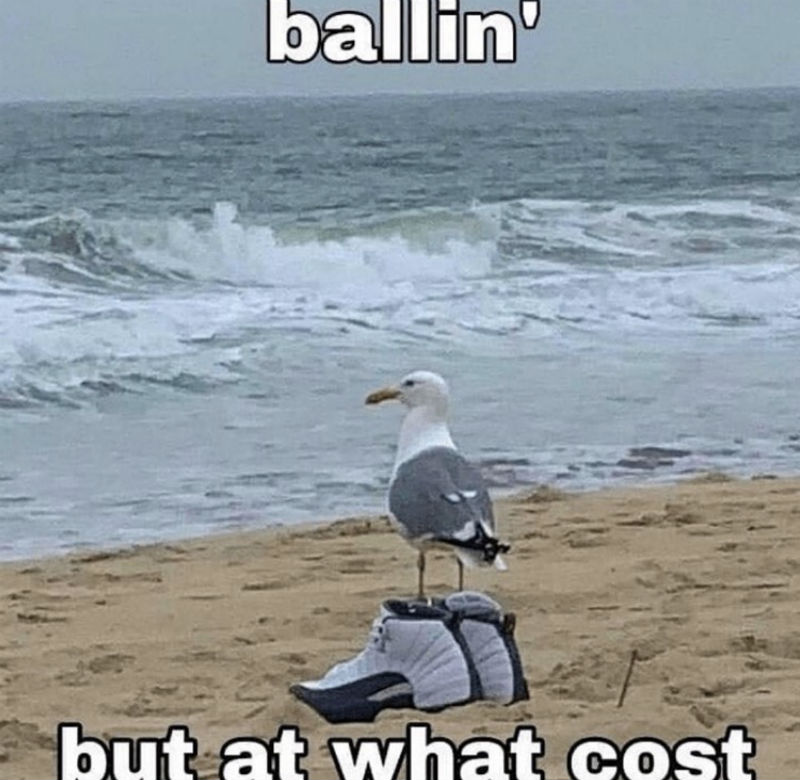 ballin but at what cost meme