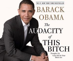 Barack Obama The Audacity Of This Bitch Book – Meme