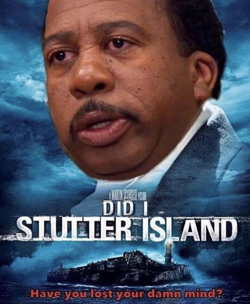 did i stutter island