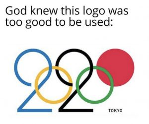 God Knew This Logo Was Too Good To Be Used – Japan 2020 Olympic Logo Meme