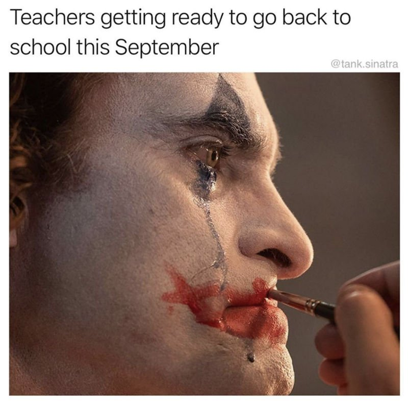 teachers ready to go back to school