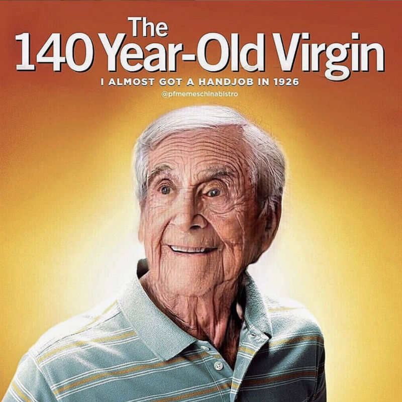 the 140 year old virgin