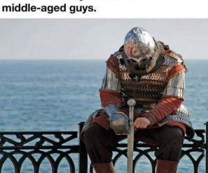 When She Tells You She's Not Into Middle Aged Guys – Meme