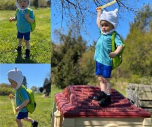 Adventure Time Finn Hat –WHAT TIME IS IT? Adventure time!