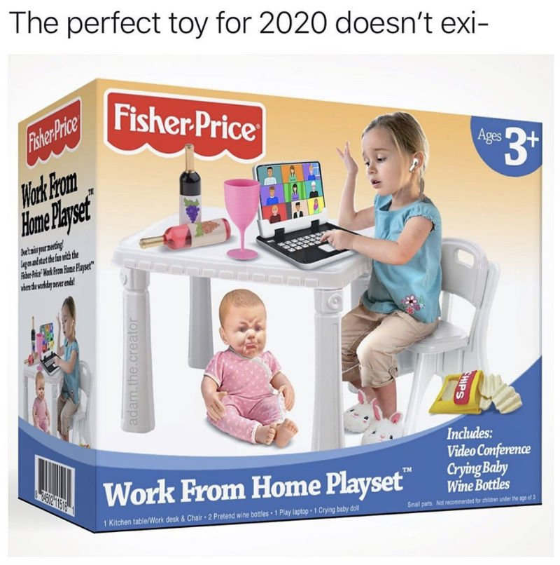 fisher price work from home