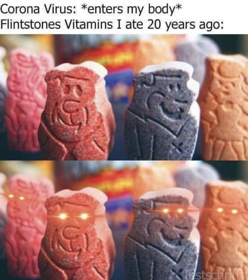 fintstone vitamins coronavirus