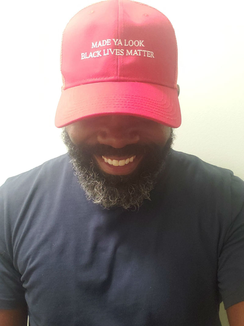 made you look black lives matter hat