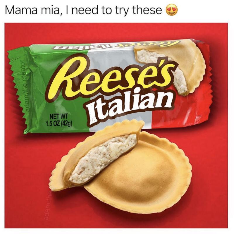reeses italian meme