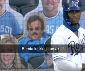Weekend At Bernies Cardboard Cutout Baseball Audience Member