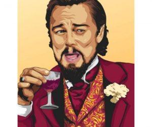 Laughing Leo Django Inspired Meme Poster