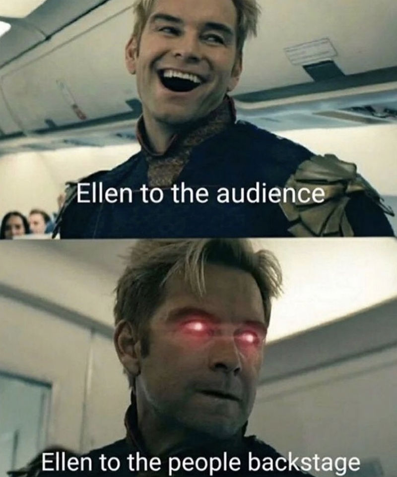 ellen to the audience meme