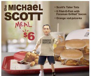 The Michael Scott Meal – Meme