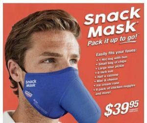 The Snack Mask Face Mask – Meme